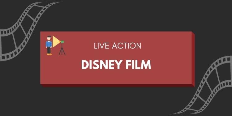 live action disney film