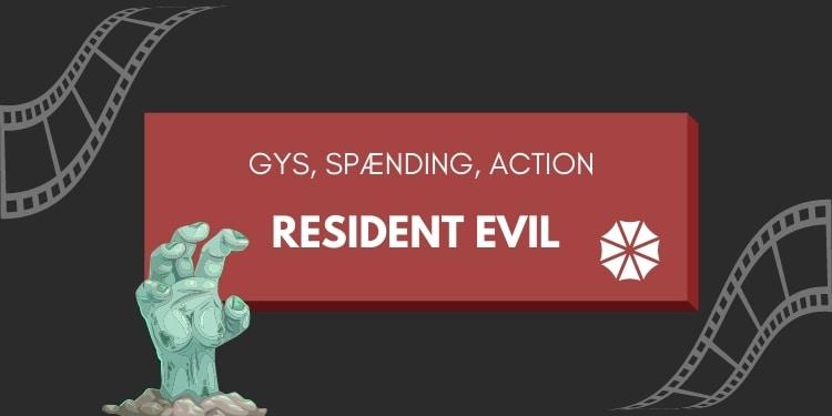 Resident Evil filmene